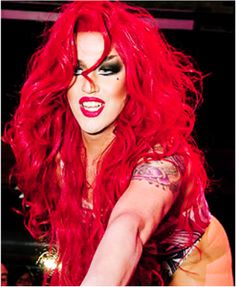 Adore Delano, love this red hot queen