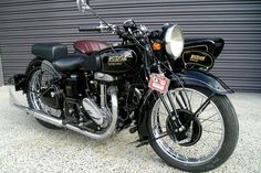 1938 Rudge Special with Dusting sidecar .. remember Rob the Ridge, miss ya mate.