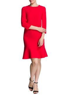Rot gelber cocktail dresses