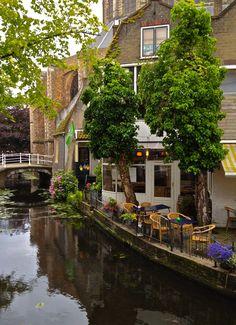 Delft, Netherlands - How inviting!  ASPEN CREEK TRAVEL -karen@apencreektravelcom