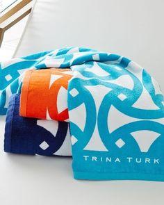 "Finally found a good size beach towel for my kids! Especially since they aren't 2 anymore!!  Trina Turk Santori Beach Towel, 36"" x 67"""