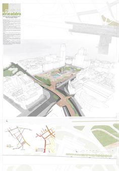Estas son las propuestas que compiten para remodelar la Plaza España en Madrid,Abracadabra. Image © Difusión Ayuntamiento de Madrid