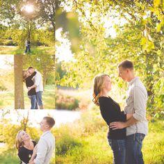 jenna larsen photography. Engagement photos. Sunset photos. Eau claire Wisconsin photography.