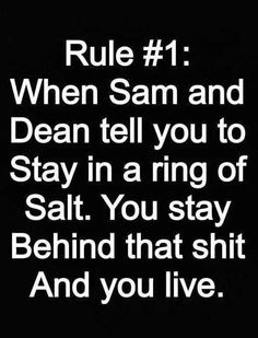 Listen to Sam and Dean (Winchester's addict)