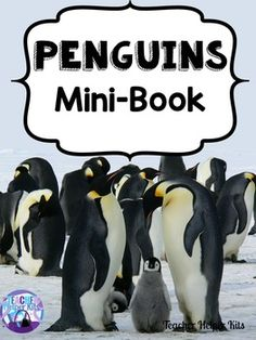 Great informational mini-book about penguins with comprehension questions.