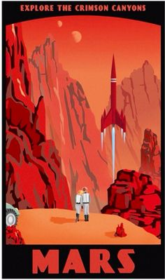 Travel. I want to colonize Mars in my lifetime