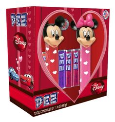 Disney pez | Disney Mickey and Minnie Valentines Pez