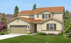 The Aurora   Plan 2441 two story HOME!