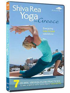 Yoga DVDs We Love:  Shiva Rea Yoga in Greece