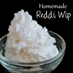 Homemade Reddi-Whip - awesome!  use an Easy Whip Whipped Cream Maker with coconut cream & sweetener, vanilla