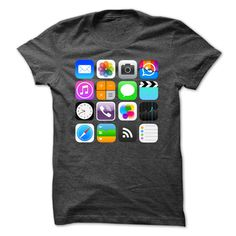SunFrogShirts cool  Apple Apps Nice Shirt  - Tshirt-Online Check more at http://tshirtsupport.com/camping/new-tshirt-name-origin-apple-apps-nice-shirt-tshirt-online.html