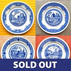 The first four Calamityware dinner plates in a discounted combination. Each porcelain dinner plate features a different calamity--flying monkeys, giant robot, voracious sea monster and UFO invasion. Food safe, microwave safe, and dishwasher safe. 10.5