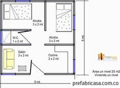 Casa Prefabricada 25 mts 2