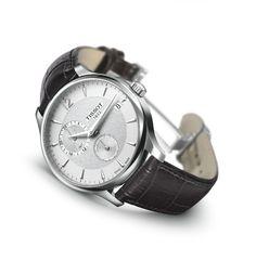 Relojes para novio o bodas: Reloj Tissot Tradition en piel (T063.639.16.037.00)