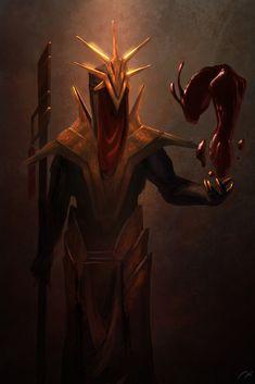 Uurad'guhld (Arch Bloodmage), Xistence Imaginations on ArtStation at https://www.artstation.com/artwork/JVqWv