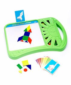 Magnetic Make-a-Shape Board by The Learning Journey #zulily #zulilyfinds