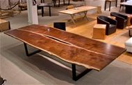 walnut dining table from Urban Hardwoods. (A girl can dream, right?)
