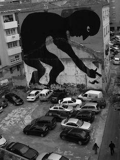 Street Art by www.thisiscolossa… Street Art is a remarkably popular f… 3d Street Art, Street Art Utopia, Best Street Art, Amazing Street Art, Street Art Graffiti, Street Artists, Amazing Art, Awesome, Street Mural