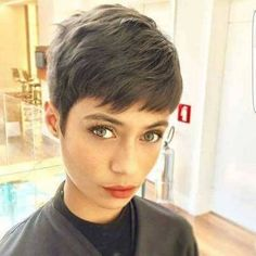 Today we have the most stylish 86 Cute Short Pixie Haircuts. We claim that you have never seen such elegant and eye-catching short hairstyles before. Pixie haircut, of course, offers a lot of options for the hair of the ladies'… Continue Reading → Long Pixie Hairstyles, Short Pixie Haircuts, Girl Haircuts, Undercut Hairstyles, New Haircuts, Straight Hairstyles, 2018 Haircuts, Easy Hairstyles, Casual Hairstyles