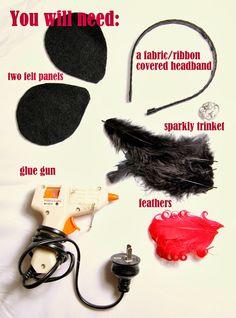 DIY facinator headband - make your own http://www.hopscotchfriday.com/2013/10/how-to-make-fascinator-for-melbourne.html