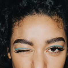 Jeremy Scott Fall 2016 Makeup details