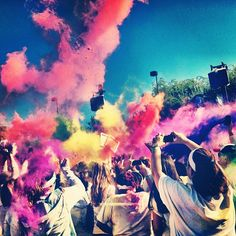 Color Run. I totally suggest you sign up if you can :) #TheColorRun