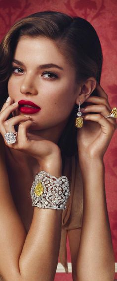 Graff Diamonds ~ Colette Le Mason @}-,-;--