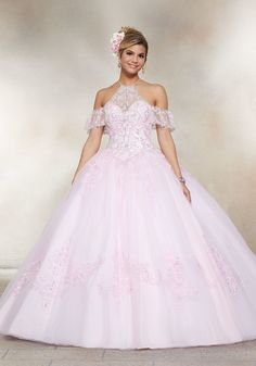 585ce4e5f40 13 Best Green Quinceanera Dresses images in 2019