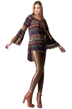 Asymmetric Knit Colorful Blouse - Vivel.gr   Γυναικεία Μόδα, Αξσουάρ, Κοσμήματα