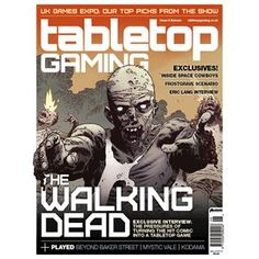 Tabletop gaming magazine subscription.