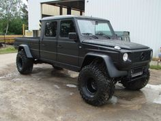 Mercedes G Wagon Pick Up Conversion