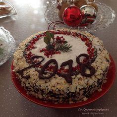 Καλή Χρονιά με υγεία, αγάπη και ευτυχία!!! Ο καινούργιος χρόνος να φέρει στον καθένα, ότι επιθυμεί!!! Σε... Dutch Oven Bread, Cooking, Desserts, Christmas, Recipes, Food, Backen, Yule, Xmas