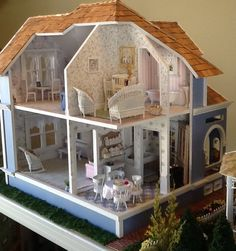 Inside view of Madison dollhouse