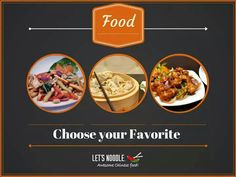 Choose from an array of authentic Chinese delicacies at Let's Noodle