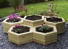 herb planter idea, build up next to a pond, and use as a natural filter
