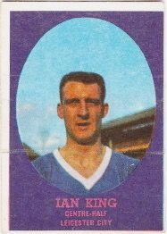 Ian King of Leicester City in 1963.