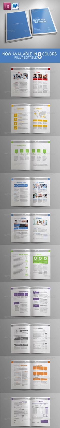 Word Documentation Cover Page Template | Sponsorship-Proposal