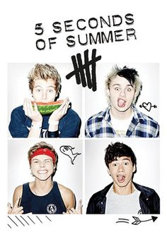 5 Seconds of Summer - Group - Official Poster