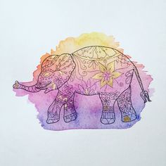 Golden Eyed Elephant