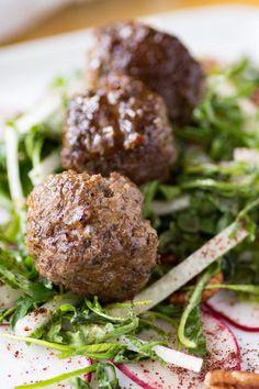Lebanese Keto Meatballs [with Jicama Salad] – Wanderspice