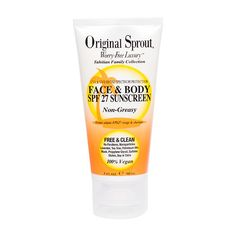 Original Sprout Tahitian Collection Face & Body SPF27 Sunscreen