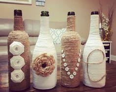 CASA guita vino botellas botellas de vino de por PeavyPieces