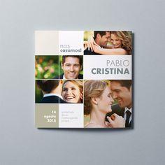 invitaciones de boda originales 3 - Portada 32.526.00070.0 Polaroid Film, Frame, Invitation Cards, Wedding Invitations, The Originals, Cover Pages, Picture Frame, Frames