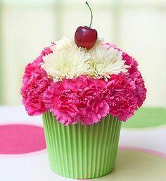 Bday flower arrangement.