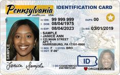 This new driver's license will be available in Pennsylvania in October It is not Real ID compliant Real Id, Get Real, Get One, How To Get, Pa Drivers License, Driver License Online, Driver's License, License Plates, Whatsapp Text