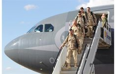 Canadian soldiers that have returning safe and sound after the war in afganistan Junxian Zhou CHC2P1-22