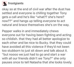 Pepper Potts marvel mcu avengers aou cacw OMG LOVE THIS