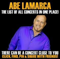 Abe Lamarca in your city! Concerts dates & tickets. #music, #show, #concerts, #events, #tickets, #Abe Lamarca, #rock, #tix, #songs, #festival, #artists, #musicians, #popular,  Abe Lamarca