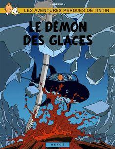 Les Aventures de Tintin - Album Imaginaire - Le Démon des Glaces