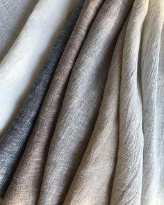 "Grace de Lino on Instagram: ""✔️New - LAUSANNE - 7 colors - W280, 100% Linen . . #gracedelino #linen #interiorfabrics #naturallinen #luxury #washedlinen…"" Lausanne, Fabric Painting, Natural Linen, Luxury, Colors, Interior, Instagram, Painting On Fabric, Indoor"